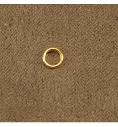 Guldfarvet løs ring, flere størrelser