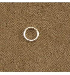 Sølvfarvet løs ring, flere størrelser