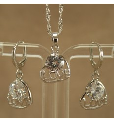 Love Smykkesæt, Klar krystal
