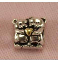 Fantastisk ring, sølvfarve