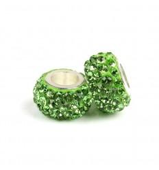 Lys grøn krystalcharm