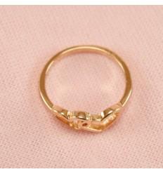Prinsesse ring, forsølvet
