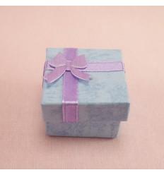 Lille gaveæske, blå