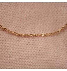 Rosaguldfarvet kæde