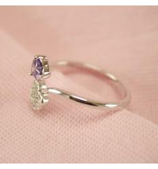 Smukt krystal smykkesæt