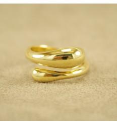 Dråbe ring, guld