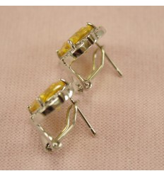 Sølv halskæde med smukke CZ krystaller