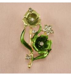 Smuk Grøn Blomst