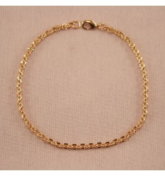 Klassisk guldfarvet armbånd