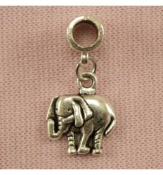 Vedhæng til charm - Elefant
