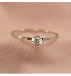 Tynd prinsesse ring