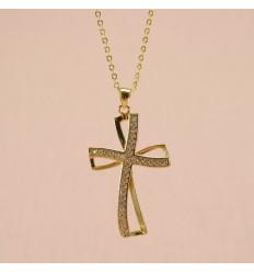 Kors med krystaller