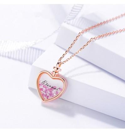 925 Eternal Heart - Forgyldt