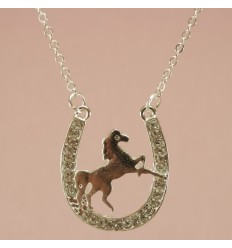 Stejlende hest, Sølvfarve
