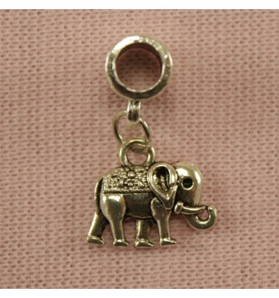 Vedhæng til charm - Elefant 2