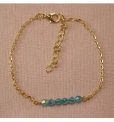 Ankelkæde - Tyrkise perler