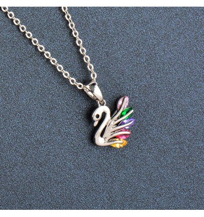 Colorful Swan
