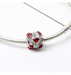 Rødt Hjerte Charm