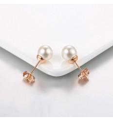 Perle Ørestikkere - Forgyldt