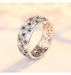 The Blue CZ Sapphire