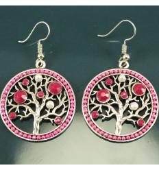 Livets Træ - Pink