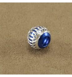Alu charm, blå