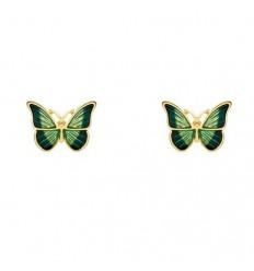Grøn Sommerfugl