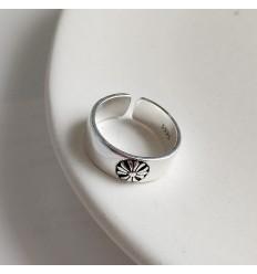 925 Marguerit Ring - Oxideret