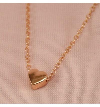 Lille hjerte halskæde