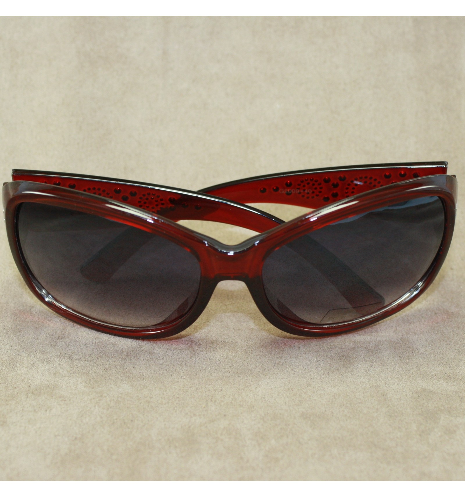 Solbrille - Red Circles - Silvo.dk