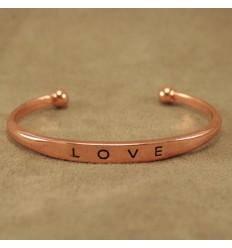 Love Armbånd, Bronzefarve