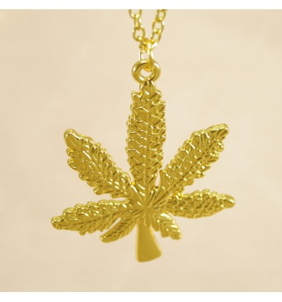 Guldfarvet hampblad
