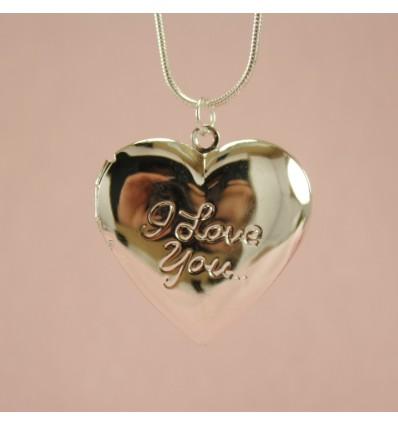 I Love You medaljon