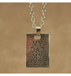 Min far min helt