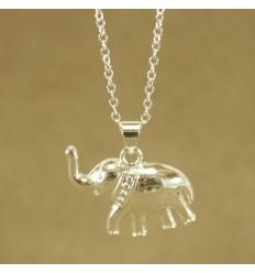 Halskæde med elefant