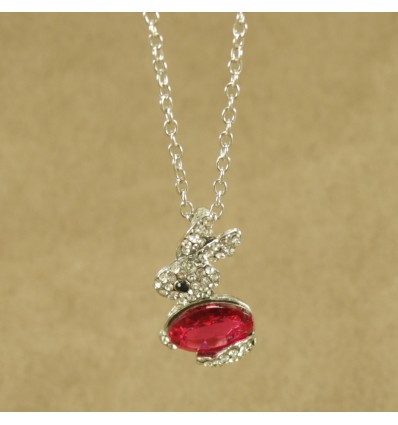 Rød krystal kanin